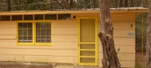 CABIN 2 - 2 rooms, 1 Queen Size Bed, 1 Sofa-Bed, Indoor Shower & Toilet, Refrigerator, Stove, Coffee Pot, Local TV and A/C.